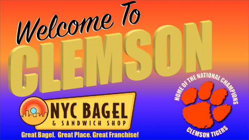 nyc bagel franchise comes to clemson